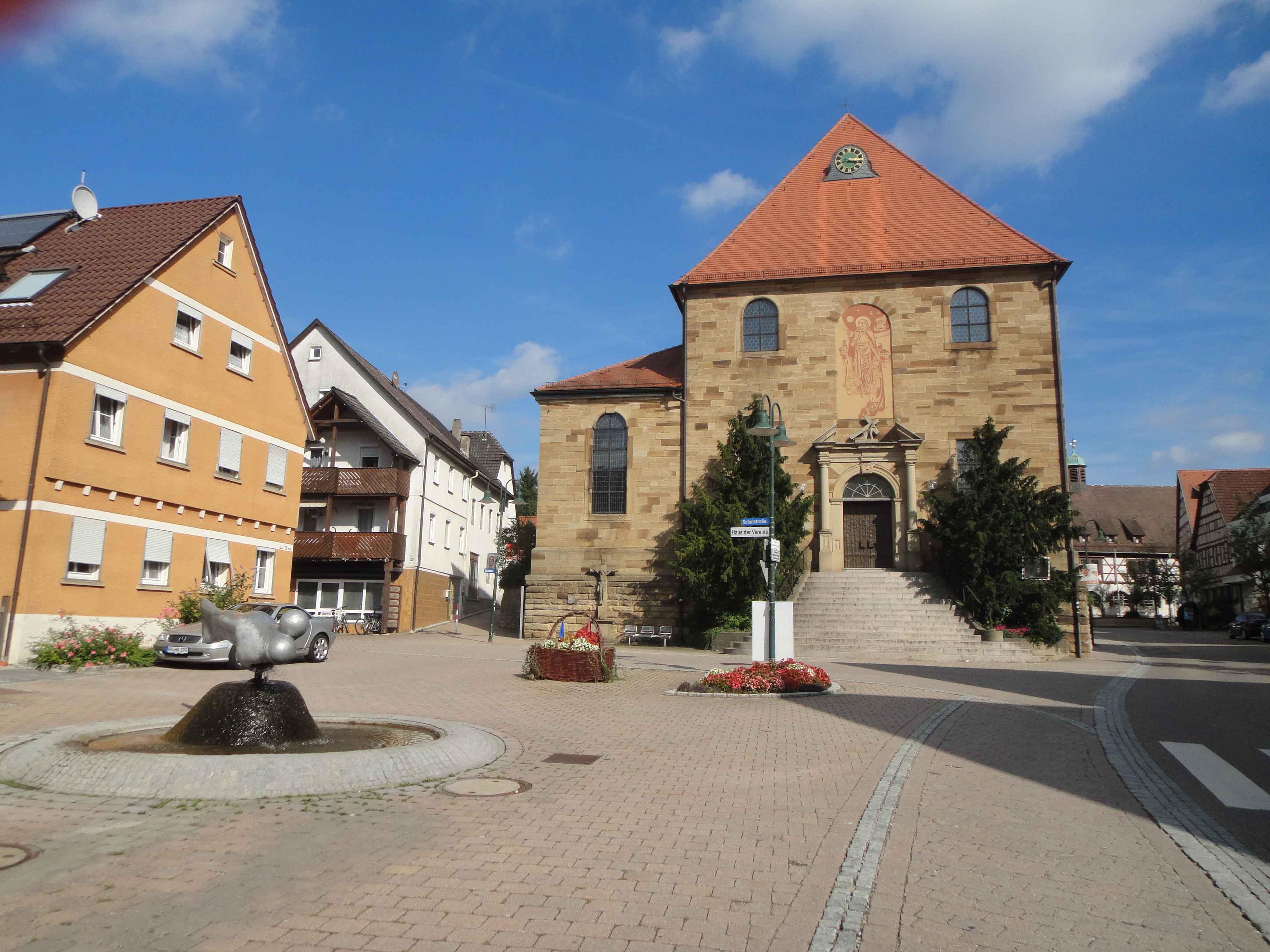 Brunnen, Stadtzentrum
