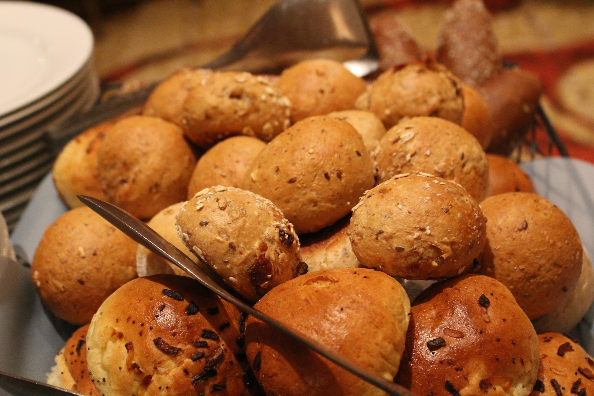 frisches Gebäck, vom Bäcker vor Ort