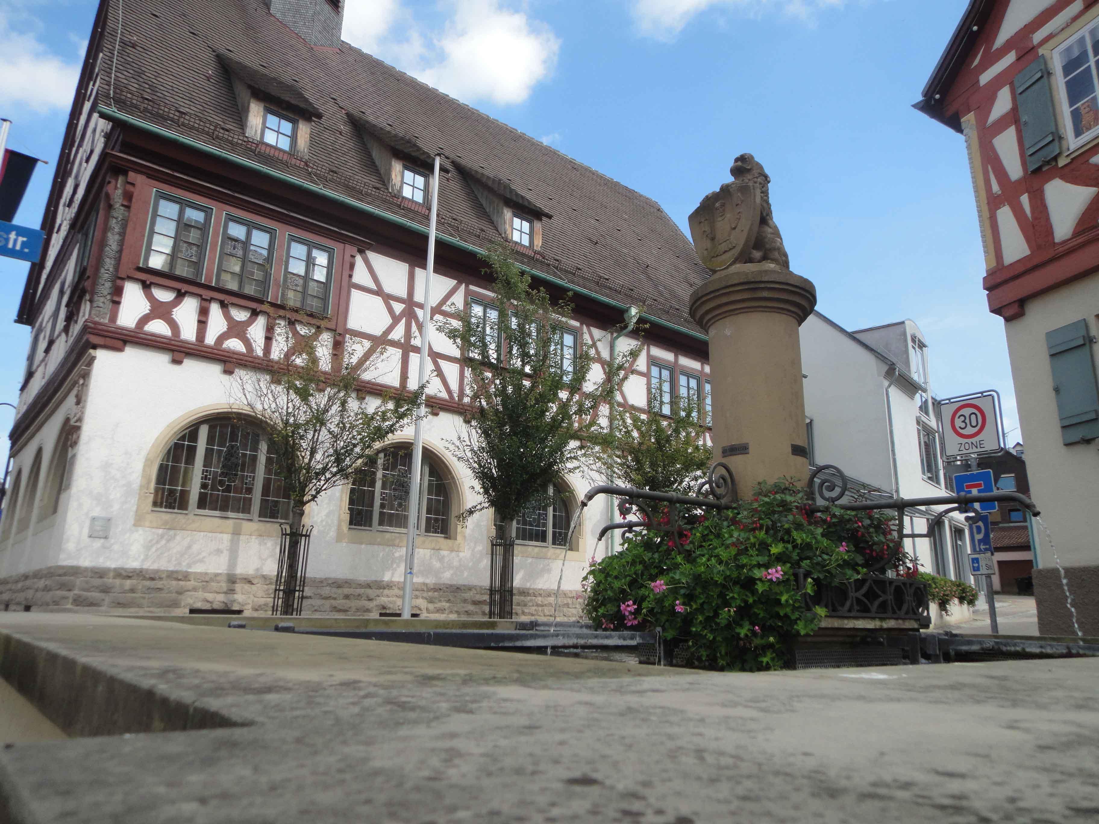 Rathaus, Ortskern